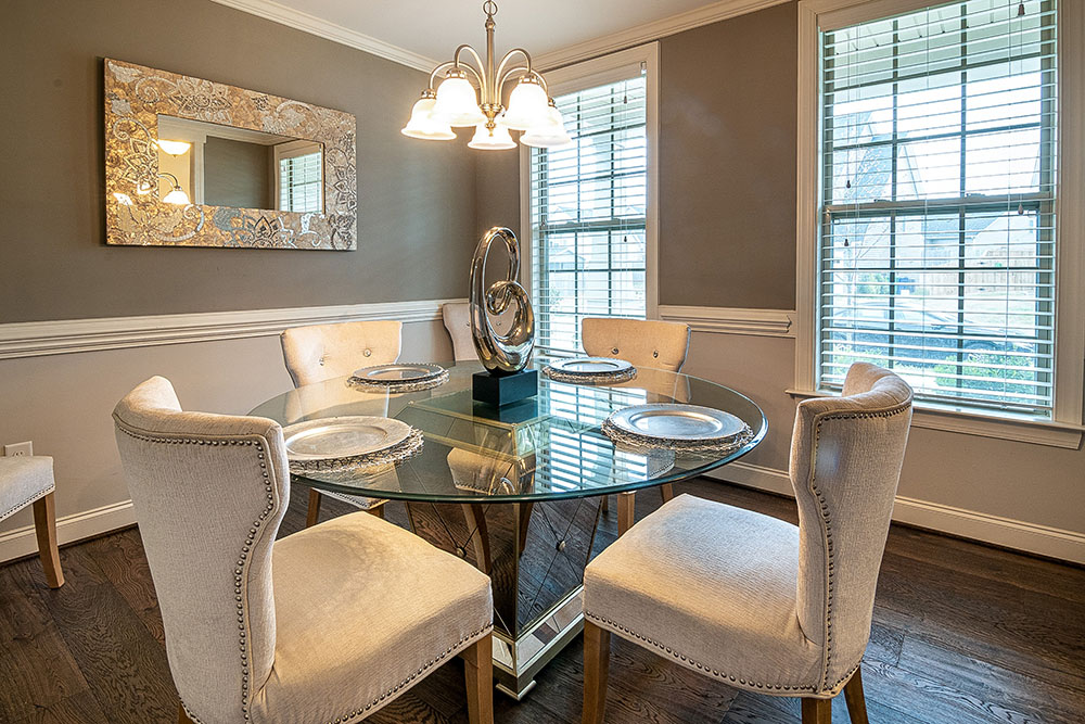 dining room paint service at a home in west chester