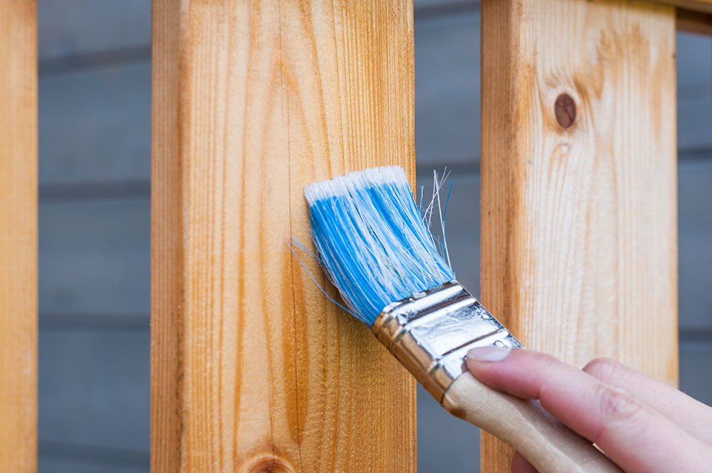 deck staining services chester county pa